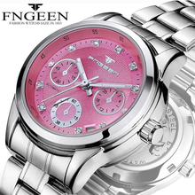 2019 Women Fashion Watches Quartz Watches Floral Dial Ladies Wristwatches montre