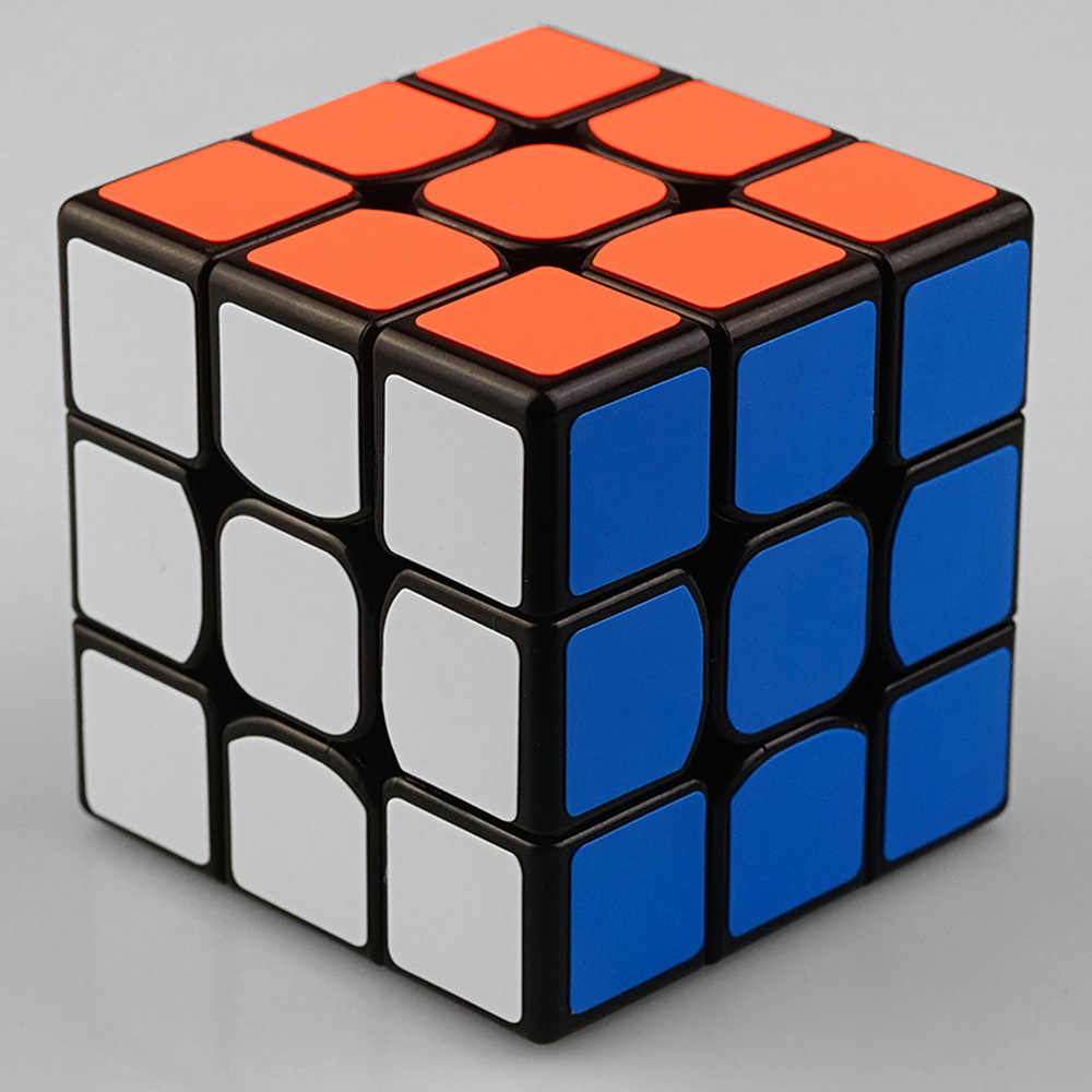 LoveCCD 3x3x3 5.7 سنتيمتر مكعب المهنية المنافسة سرعة مكعب البلاستيك التعليمية لغز تويست بارد لعب الاطفال هدايا J14