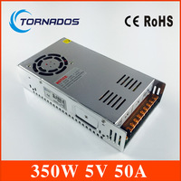 Constant voltage 5V 50A dc regulated power supply 350w Switching power supply 5v 350W S 350 5 CE and ROHS approved