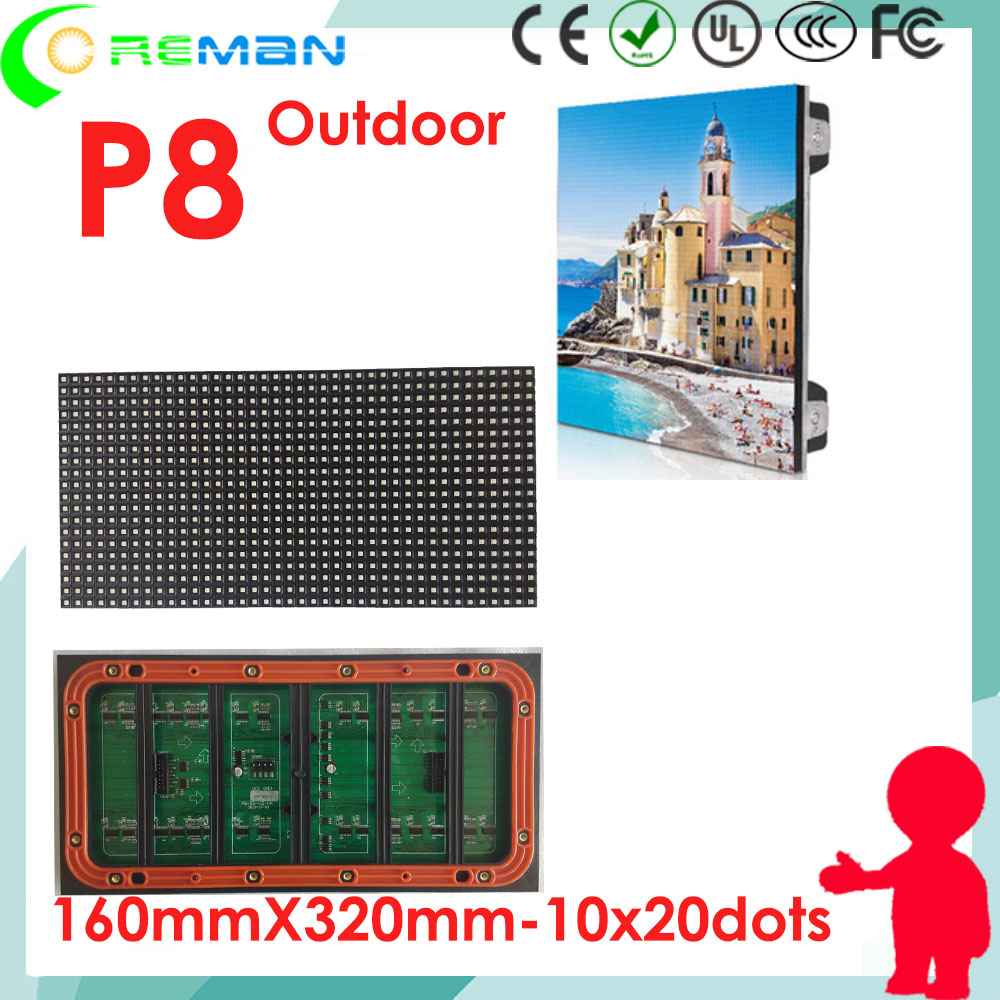 Hard-Working Aliexress Brazil Chile Peru Mexico Cheap160x320 20x40 Rgb Led Matrix Panel Module P8 P4 P5 P6 Outdoor Xxx Hd Video Mobile Led Tv