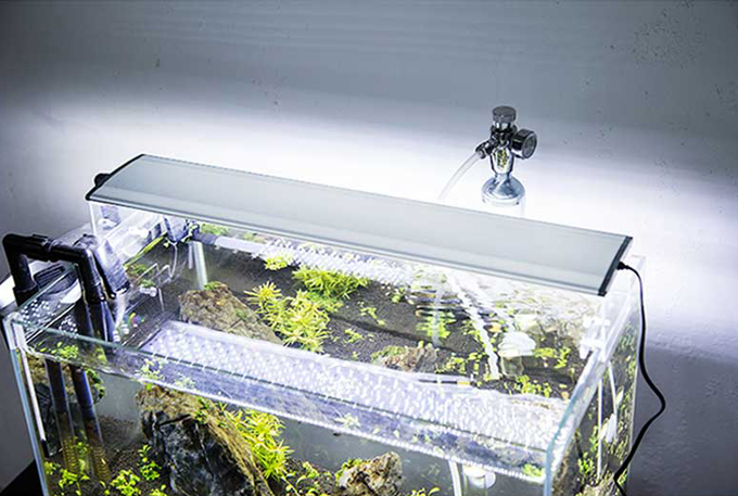 Aquarium led lights 40cm length 15.6w Aquatic plants grow lights super  bright plant light 14000K