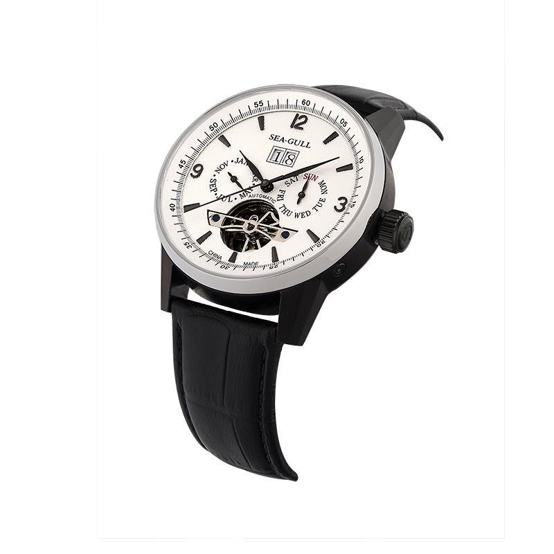 Leisure Automatic Authentic Leather Automatic Leather Watch бар - Ерлердің сағаттары - фото 5