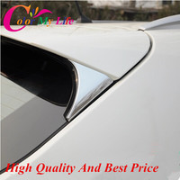 For Nissan Qashqai 2014 2015 2016 Car Cover Styling ABS Accessories Rear Tail Window Windshield Side