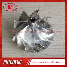 RHF55 7+ 7 лезвия 52,60/65,00 мм Турбокомпрессор заготовка/фрезерный/алюминий 2618 колеса компрессора для VF30/VF34 обновления