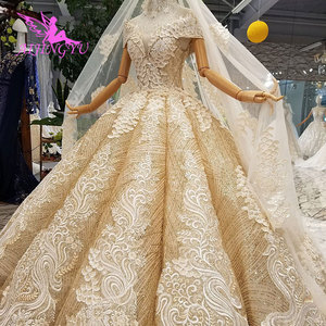 Image 2 - AIJINGYU Abito Da Sposa Vittoriano Abiti Corsetto Commercio Allingrosso Semplice Breve Vintage Modest Abito A Buon Mercato Abiti Da Sposa femminile