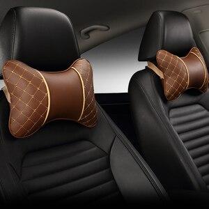 Image 4 - Zagłówek samochodowy poduszka pod kark cztery pojazd podłokietnik do siedzenia głowa poduszka szyi ochrona szyi poduszka na