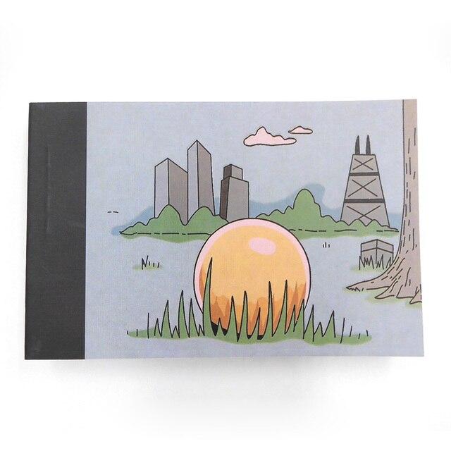Yaratıcı Eğilimler DIY Teklif Hediye Flip Flap Kitap Gizleyebilir Evlilik Yüzük Karikatür Flippist FlipBook AG0001