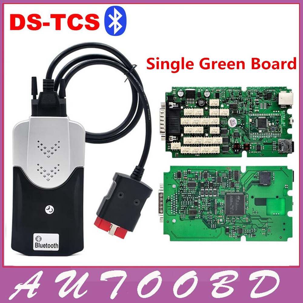 Подробнее о Top Quality Green Single Board TCS CDP PRO for CARs/TRUCKs+Generic 3 in 1 New NEC Relays No BT SCANNER+2014.R2 software obd tool green pcb nec relays tcs cdp pro new designed red multidiag pro bluetooth 2014 r3 kengen obdii cars