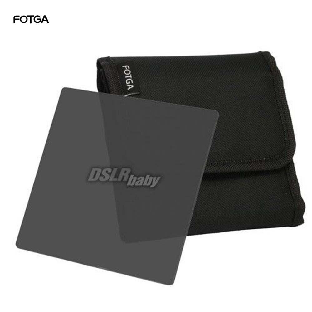 Fotga 101mm Wide Square Neutral Density Full ND2/ND4/ND8 Filter for Matte Box Holder 4 x 4