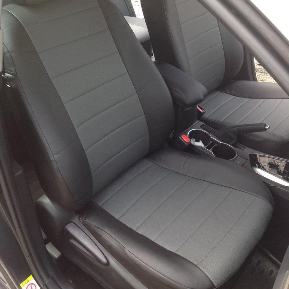 Para Toyota Corolla 2014-2019 cubiertas de asiento de coche set completo piloto automático Eco-cuero