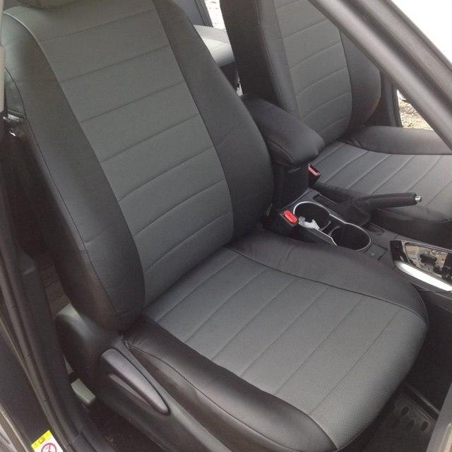 Для Toyota Corolla 2014-2019 специальные чехлы для сидений автомобиля полный комплект автопилот из эко-кожи