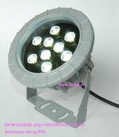 Good Quality High Power 9W Outdoor LED Spotlight LED Outdoor Light 110V 250VAC DS 06 20