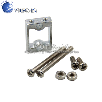 TT motor bracket motor frame aluminum alloy smart car chassis wheel screw fasteners image