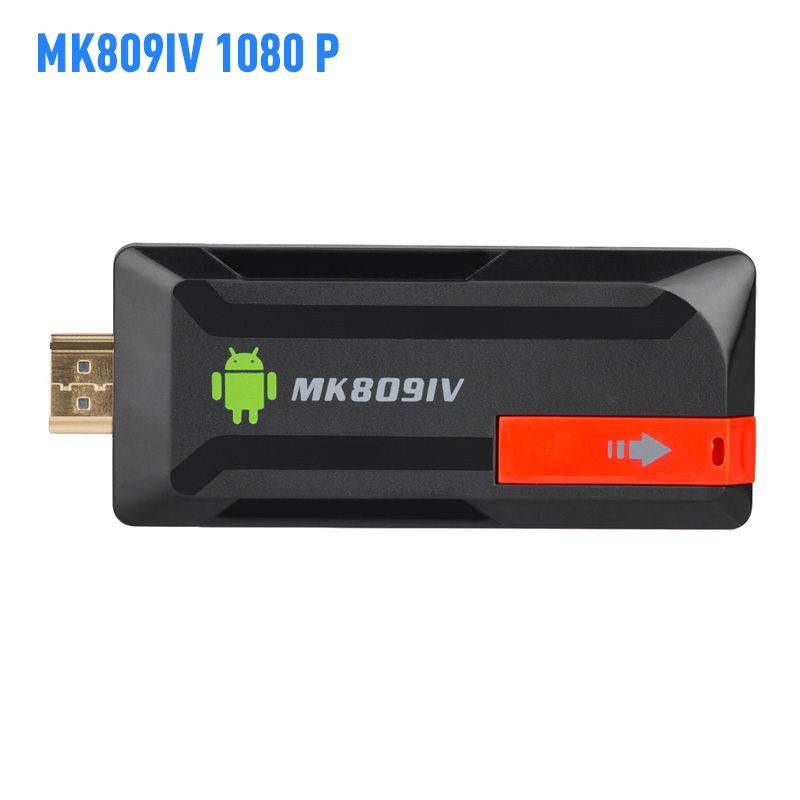 MK809IV 4 K TV Dongle Android 5.1 HDR H.265 Ram 2 GB Rom 8 GB Bluetooth 4.0 Miracast TV Stick pour DLNA pour AirPlay Mini Pc