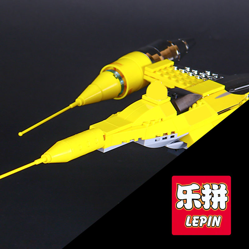 LEPIN 05060 Star UCS naboo star type fighter aircraft War Model Building Kit Blocks Bricks Funny Compatible 10026 Toys Gifts каталог ucs