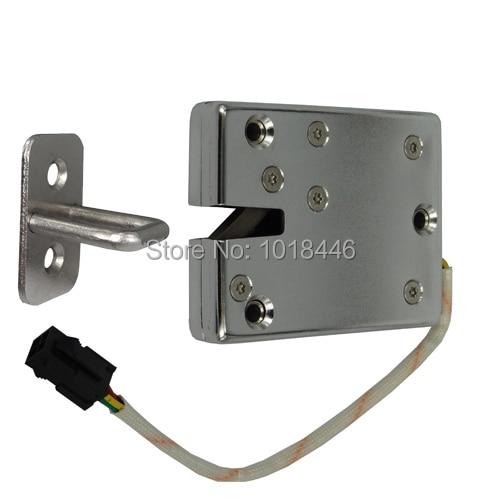 heavy duty electric cabinet lock with door status reporting