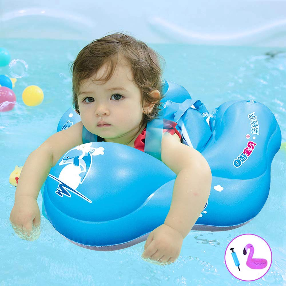 2019 New Baby Swimming Circle Ring Inflatable Floating With Gifts For Kids Bathing Swim Pool Accessories Dropshipping
