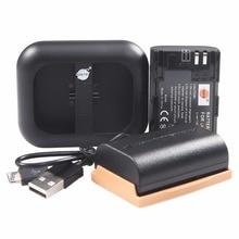 DSTE 2x LP-E6 LPE6 Батарея + UDC88A Dual USB Зарядное устройство для Canon EOS 5DS R 5D Mark II 5D Mark III 6D 7D 60D 60Da Камера