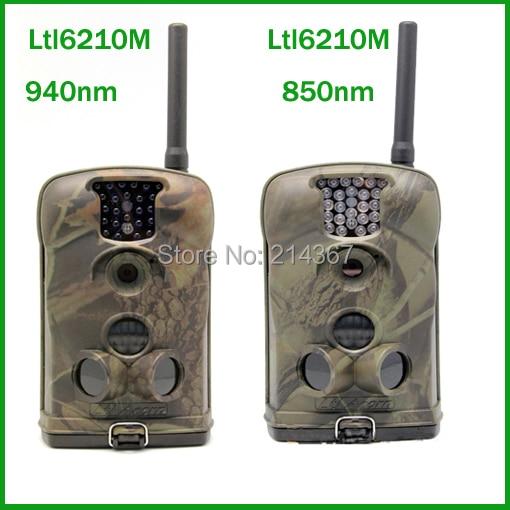 Ltl Acorn Ltl6210M 940nm Black IR Sightless GSM MMS GPRS Hunting Game Cameras for Hunter Free ship ltl acorn 6210m hunting cameras security metal