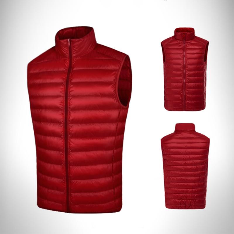 Pgm Golf Clothes Men Down Jacket Coat Double Down Vest Male Sleeveless Golf Warm Windproof Waistcoat Autumn Winter Apparel D0512