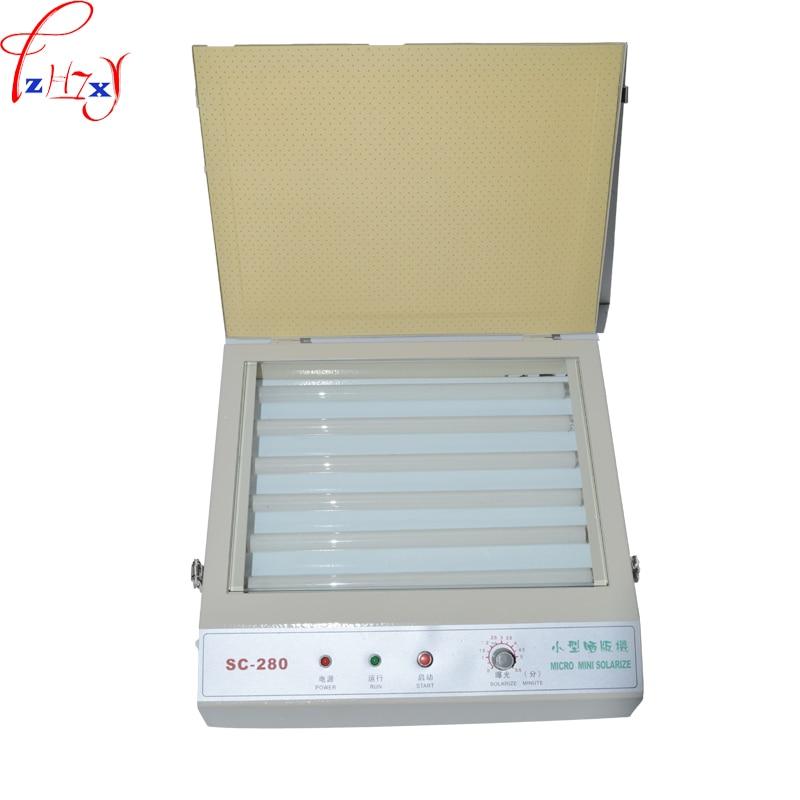 цена SC-280 UV Exposure Unit for Hot Foil Pad Printing PCB/resin version printing-down machine/PS edition print machine онлайн в 2017 году
