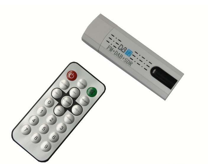 DVB-T stick USB tv sintonizador Digital por satélite DVB T2 DVB-T/C FM DAB añadir antena remoto 1080 p MPEG-2 MPEG-4 H.264 TV receptor DVB810