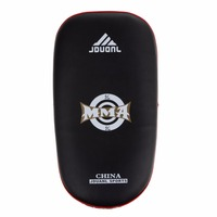 Free Shipping Muay Thai Kick Boxing Training Shield Curve Pads Punch MMA Foot Target