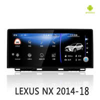 NVTECH Multimedia Navigation GPS For LEXUS NX Bluetooth Android 7.1 Radio Dashboard DVD Player 10.25
