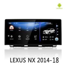 NVTECH мультимедийная навигация gps для LEXUS NX Bluetooth Android 7,1 радио приборной панели dvd-плеер 10,25 «2014-2017