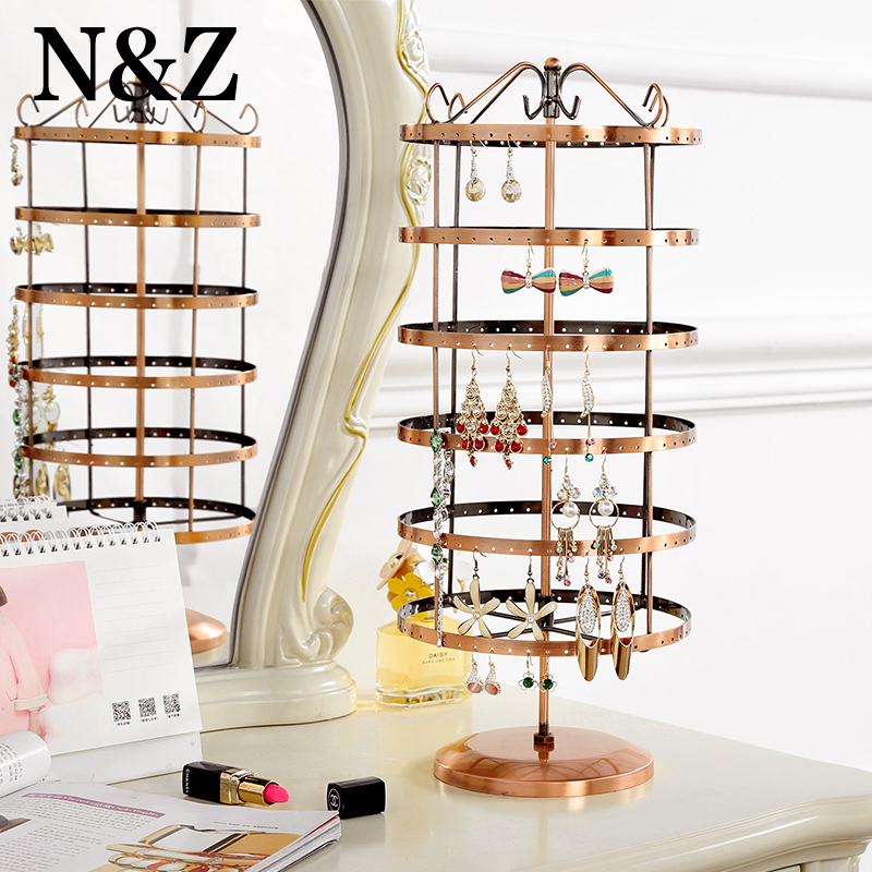 ANFEI Jewelry Display Rack Jewelry Stand Display Jewelry Holder Jewelry Organizer Earring Holder Total 288 Holes