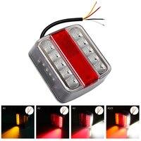 14 Leds LED Truck Tail Light Brake Stop Lamp DC 12V Car Warning Lights Car Styling