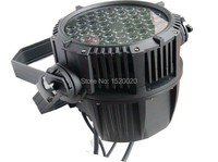2pcs LOT LED Wall Washer 54pcs 3W Rgbw Led Waterproof Par Outdoor Wall Washer Dmx 512