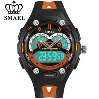 SMAEL Student Children Watch LED Digital Wristwatch Electronic Wrist Watch For Boy Gift Kids Sports Multifunction