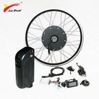 1000 Вт Электрический велосипед Conversion Kit с В 48 В батарея бесщеточный шестерни концентратора двигатель колеса для 26 700C E мощный Электрический В