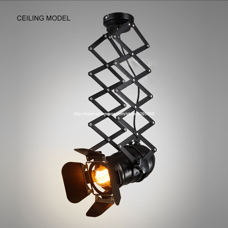 Free Shipping Retro Black Metal Ceiling Lights Fixtures Living Room Lifting  Sport Tracking Lamps(China - Popular Sports Ceiling Light-Buy Cheap Sports Ceiling Light Lots