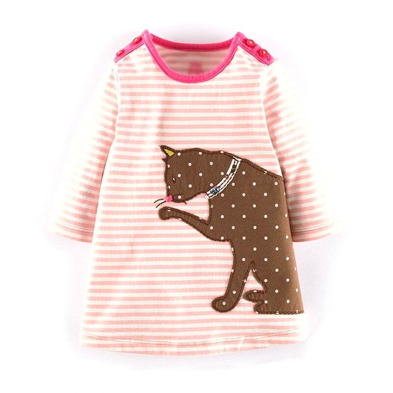 Kinder Kleider für Mädchen Robe Fille Dinosaurier Party Einhorn Prinzessin Kleid Baby Kleidung Vestidos Kinder Kleidung Mädchen Kleid