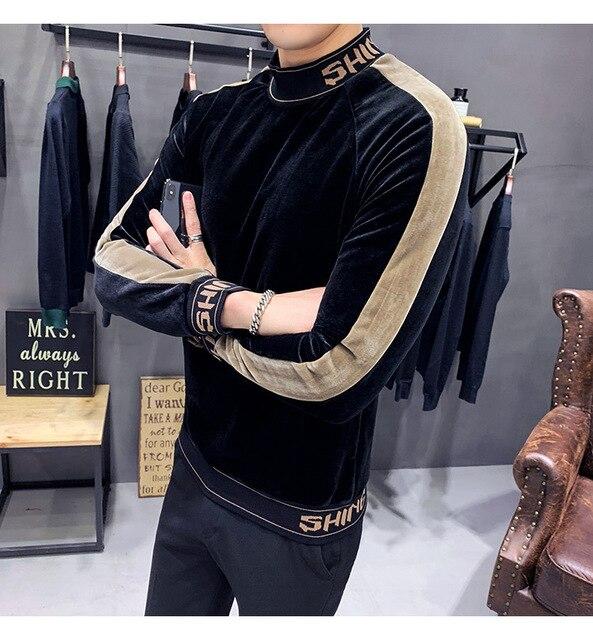 HIgh Fashion Velvet Sweatshirts 3