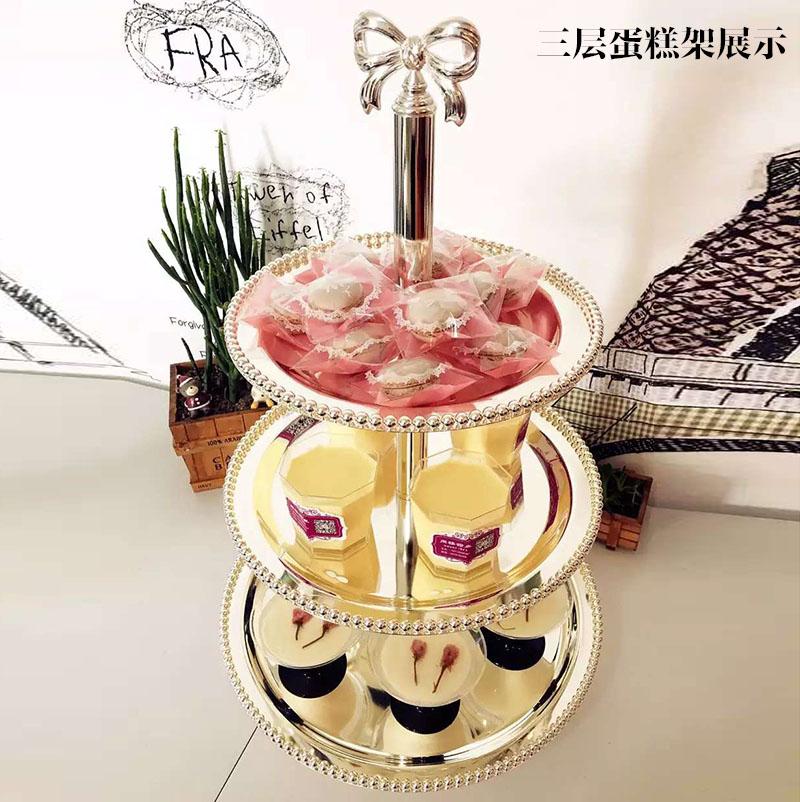 Gâteau de mariage casserole fruits palette après-midi thé snack rack dessert gâteau stand bonbons stand