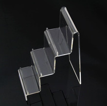 Hot sale wallet Display stand acrylic cosmetic Glasses shelf Rack Multifunction 1/2/3/4 Layer Jewelry phone holder rack 3pcs/lot