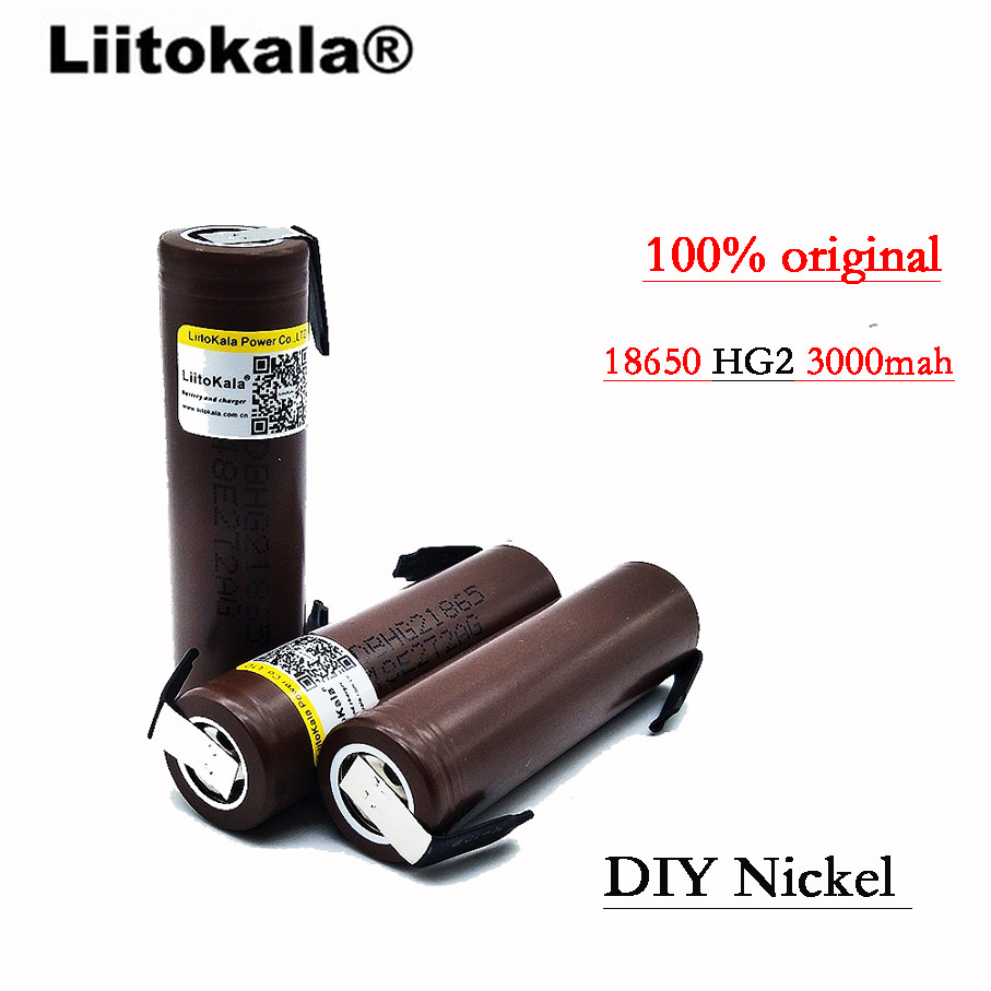 Image 4 - 2019 8PCS 100% original  HG2 18650 3000 mAh battery 18650 HG2 3.6V discharge 30A, dedicated for e cigarette batteries +DIY Nicke-in Rechargeable Batteries from Consumer Electronics