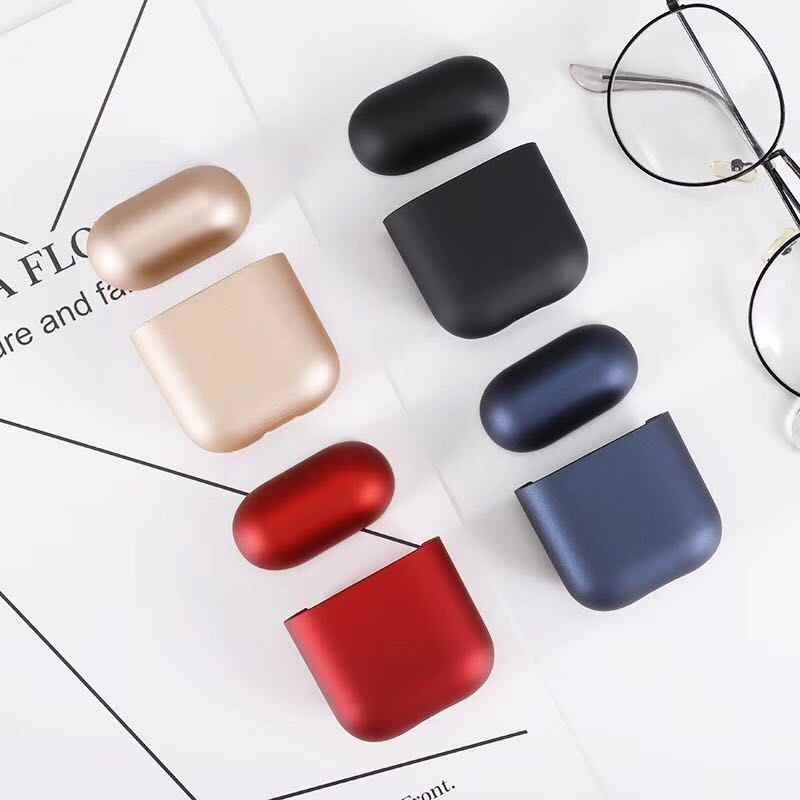 For Apple Airpods case Split PC hard Case iPhone Wireless Bluetooth Headset Protection Cover Birthday Holiday Gifts