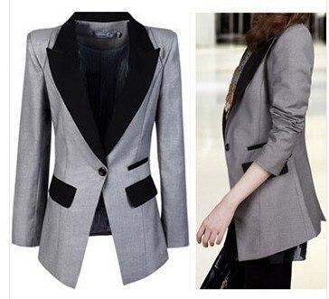 2016 Мода Досуг blazer женщины малый костюмы feminino костюмы для женщин blazer куртки blaser feminino пальто куртки женщин 3xl-xxxl