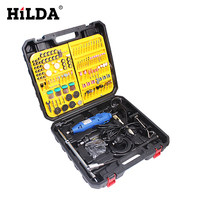 HILDA Mini Electric Drill With Accessories For Dremel Grinder Dremel Style Rotary Tool Double Electric Mill