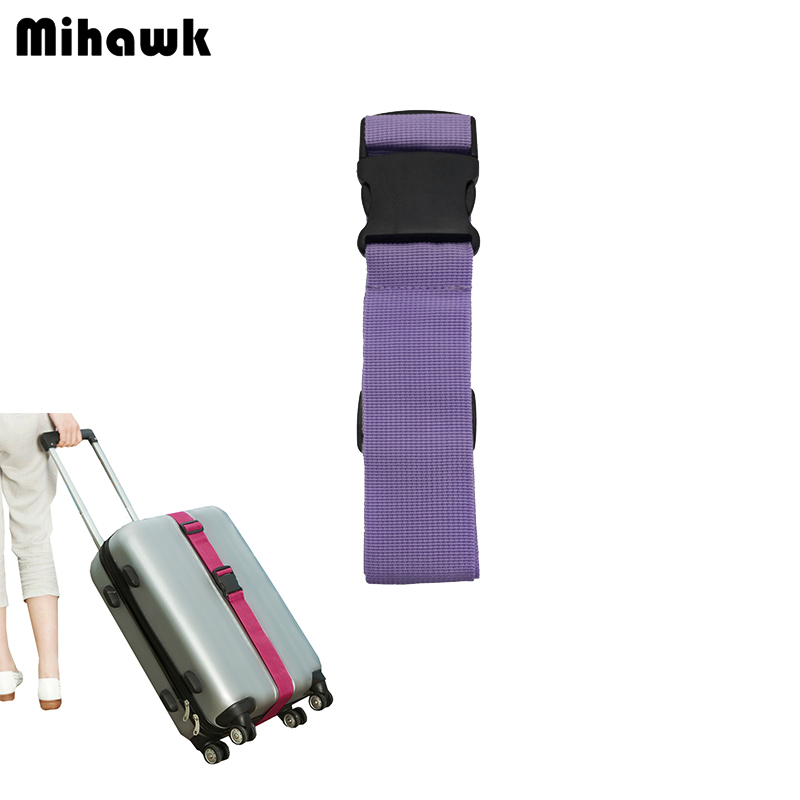 купить Mihawk Luggage Strap Belt Trolley Suitcase Adjustable Security Bag Parts Case Travel Accessories Supplies Gear Item Suff Product недорого