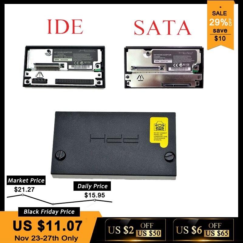 Sata adaptador de red adaptador para Sony PS2 gordo consola de juego enchufe IDE HDD SCPH-10350 para Sony Playstation 2 gordo Sata hembra