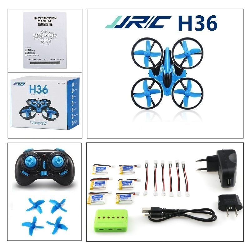 JJRC H36 Une clé Auto Retour Mini Drone 2.4G 4CH 6 Axes Sans Tête Mode RC Quadcopter VS E010 T36 NH010