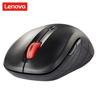 LENOVO WLM200 Wireless Mouse USB Connection 2.4GHz Wireless Mice Notebook Desktop Computer 1500dpi Mute Mini Mouse
