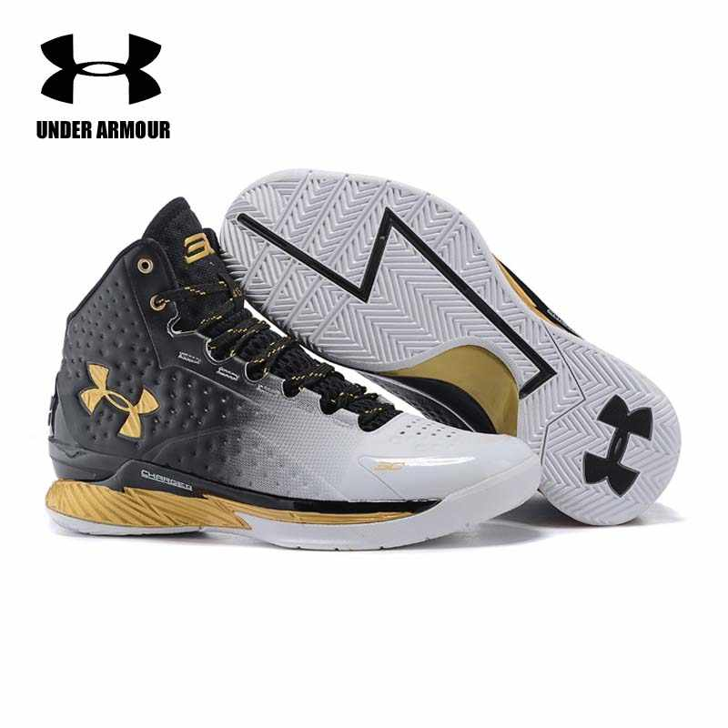 3fda7d3f822e Detail Feedback Questions about Under Armour Men Curry V1 Basketball shoes  Zapatillas De Baloncesto training boots Cushioning classic Stephen Curry  Sneakers ...