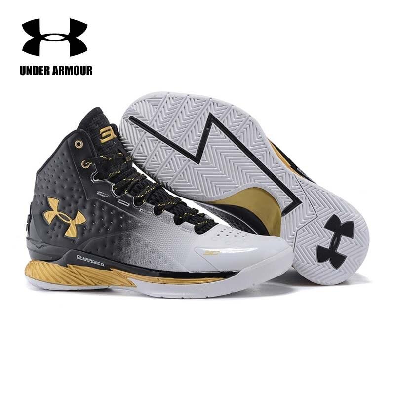 Under Armour hommes Curry V1 chaussures De basket Zapatillas De Baloncesto bottes d'entraînement amorti classique Stephen Curry baskets