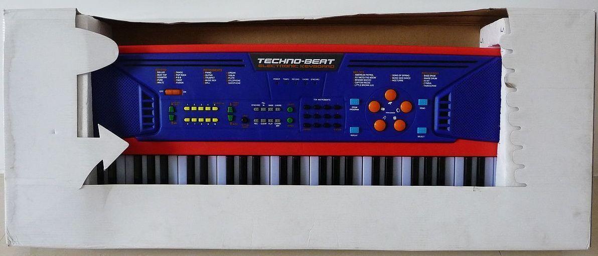 Techno Beat 52 Key Electronic Keyboard Multifunctional Child